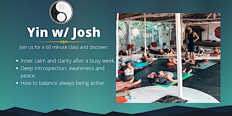 Yin w/ Josh: Self-Discovery Pt. 1/2. tickets
