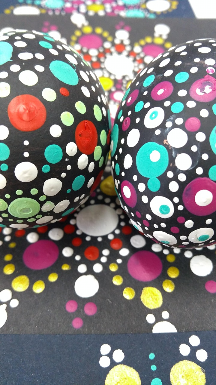 Mindful Dotty Art for Wellbeing in May image