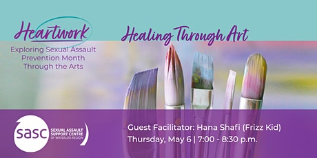 Healing Through Art - Featuring Frizz Kid tickets