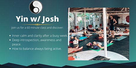 Yin w/ Josh: Self-Discovery Pt. 2/2. tickets