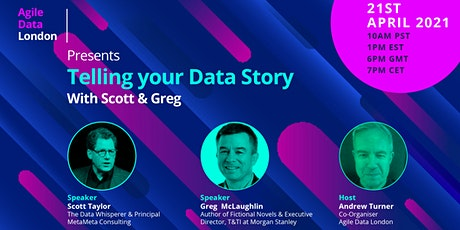 ADL presents Telling your Data Story with Scott & Greg tickets