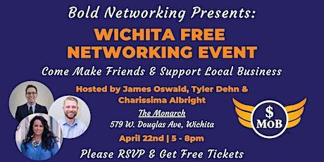 KS   Wichita Cash Mob - FREE Networking Event   April 2021 tickets