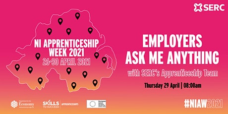 Employers - Ask Me Anything with SERC's Apprenticeship Team tickets