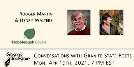 Conversations with Granite State Poets - Rodger Martin and Henry Walters tickets