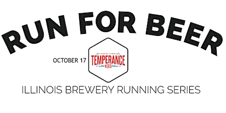 Beer Run - Temperance Beer Co. - 2021 IL Brewery Running Series tickets