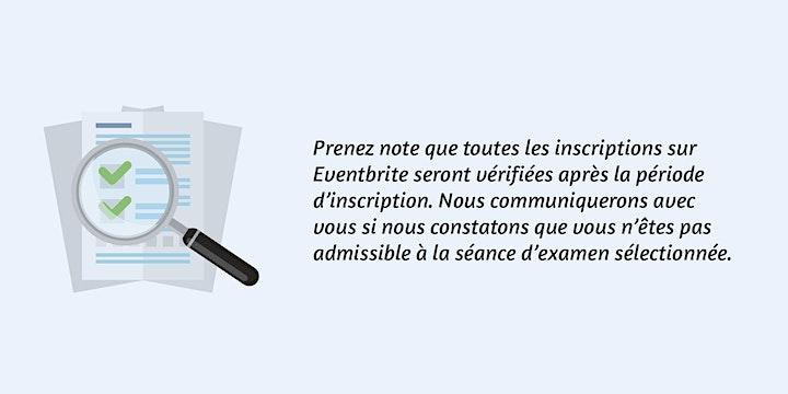 Image de Séance d'examen professionnel de Montréal