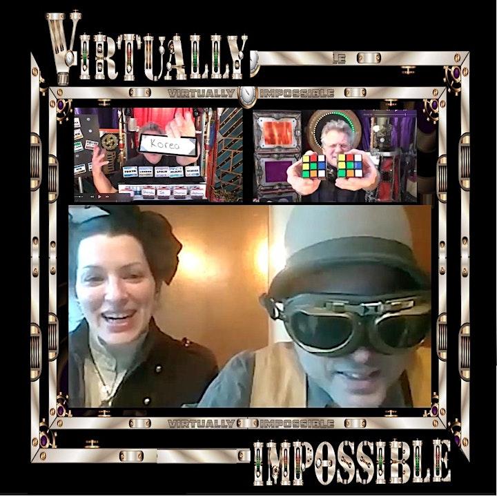 MAJINX's  VIRTUALLY IMPOSSIBLE SHOW: Steampunk Edition image