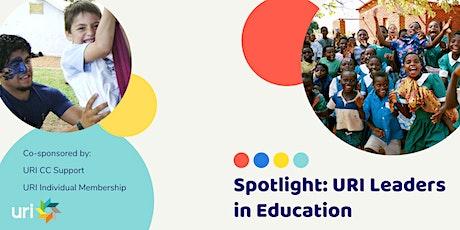 Spotlight: URI Leaders in Education tickets