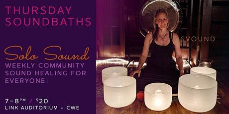 Weekly Soundbaths on Thursday tickets