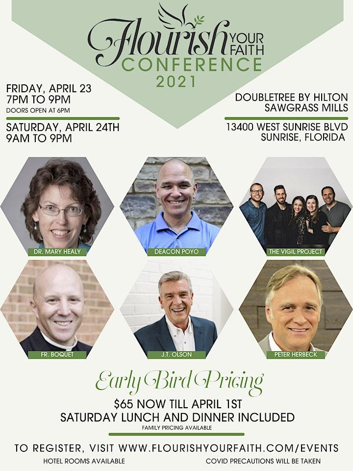 Flourish Your Faith Conference 2021 image