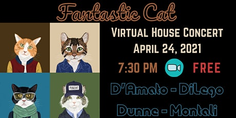 Fantastic Cat Virtual House Concert tickets