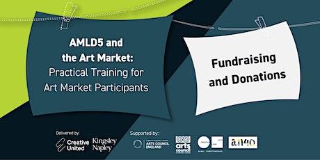 AMLD5 and the Art Market: Fundraising and donations bilhetes
