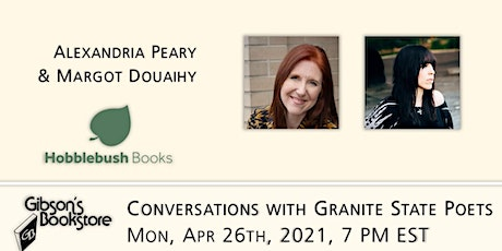 Conversations with Granite State Poets - Alexandria Peary & Margot Douaihy tickets