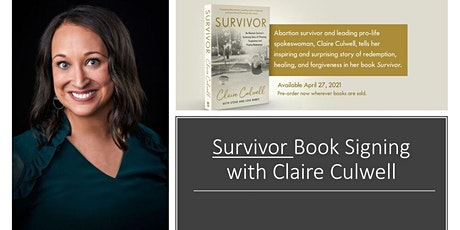 Claire Culwell SURVIVOR Book Signing tickets