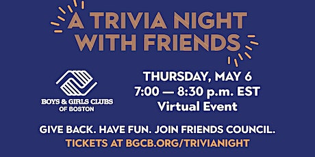 A Trivia Night With Friends tickets