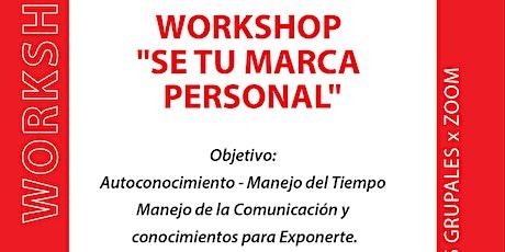 Workshop de Marca Personal entradas