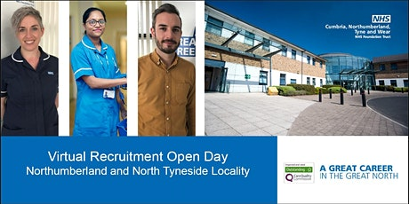 Northumberland and North Tyneside Virtual Recruitment Event tickets