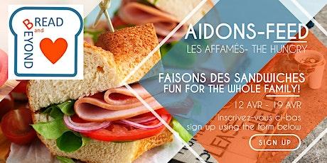 Faisons des sandwiches! Sandwiches for the Hungry billets