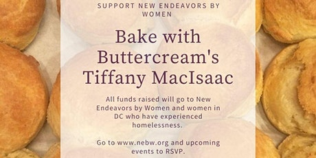 Virtual Baking with Buttercream's Tiffany MacIsaac! tickets
