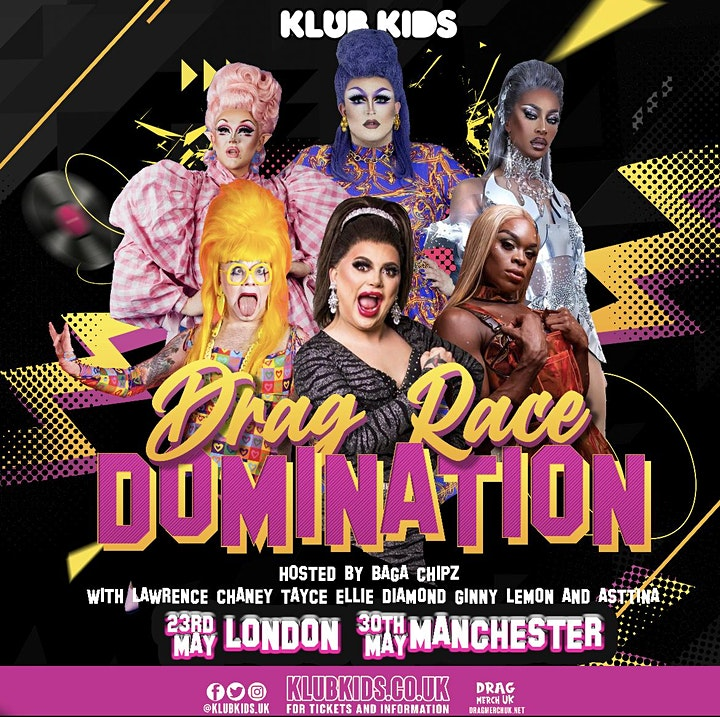 Klub Kids London Presents: DRAG DOMINATION - EARLY SHOW  (+14) image