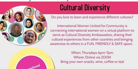 Do You Love to Learn & Experience Different Cultures? tickets