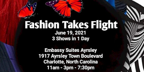 Fashion Takes Flight Runway Show - 7:30PM SHOW tickets
