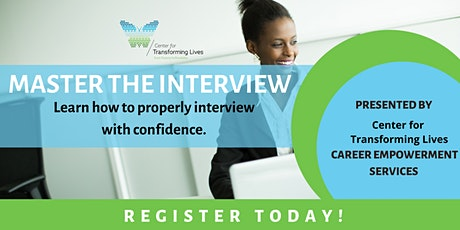 Master The Interview Webinar tickets