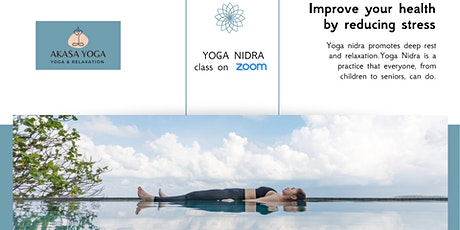 Relaxation practice for stress relief - YOGA NIDRA tickets