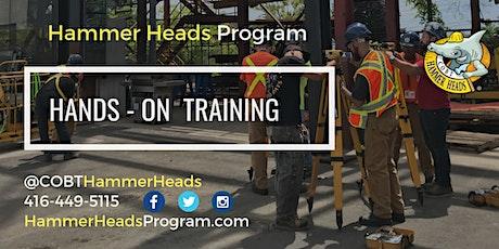 Hammer Heads  Program Application Session - FALL  2021 tickets