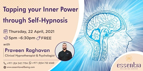 Free Talk: Tapping your Inner Power through Self-Hypnosis with Praveen Ragh tickets