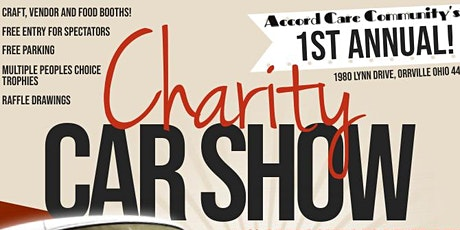 Accord Care Community's 1st Annual Charity Car Show - REGISTRATION SIGNUP tickets