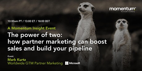 How partner marketing can boost sales and build your pipeline tickets