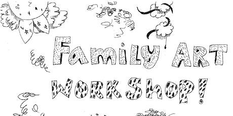 Family Art Workshop - April! tickets
