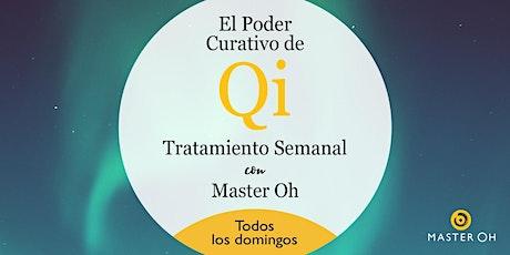 El Poder Curativo de Qi: Tratamiento Semanal con Master Oh boletos