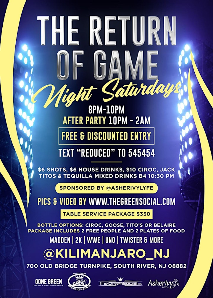 GAME NIGHT & AFTERPARTY image