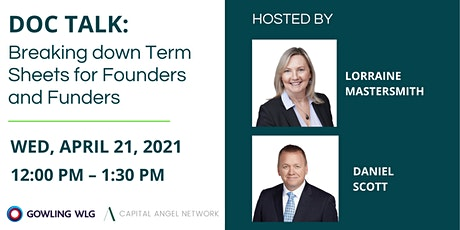 Doc Talk: Breaking down Term Sheets for Founders and Funders tickets