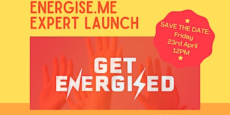 Energise.me Expert Launch Tickets