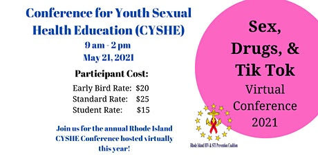 Sex Drugs and Tik Tok  CYSHE Conference 2021 tickets