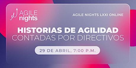 Agile Nights LXXI boletos