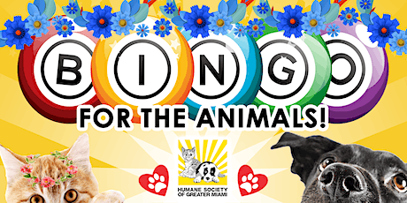 Virtual Bingo for the Animals - Mother's Day Edition tickets