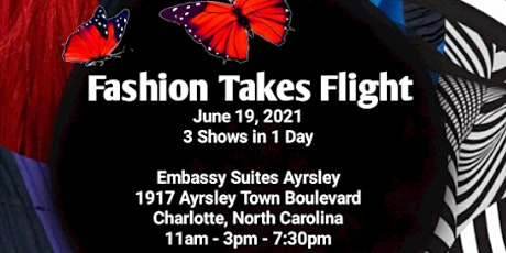 Fashion Takes Flight Runway Show - 3PM SHOW tickets