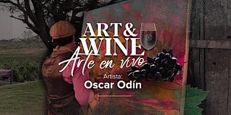 ART&WINE Con Oscar Odín boletos