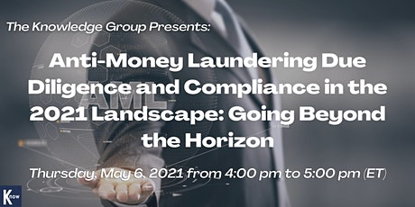 Anti-Money Laundering Due Diligence and Compliance in the 2021 Landscape biljetter