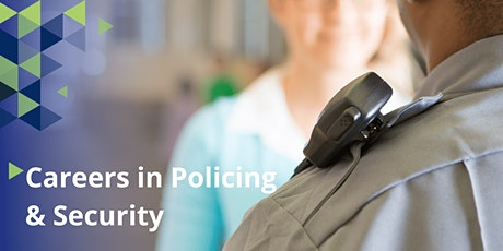 Careers in Policing and Security tickets
