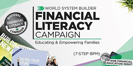 WSB Financial Literacy Campaign & (PT/FT)- Business Opportunity Intro. tickets