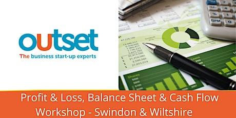 Profit & Loss, Balance Sheet and Cashflow tickets