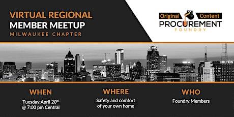 Virtual Member Meetup Milwaukee tickets