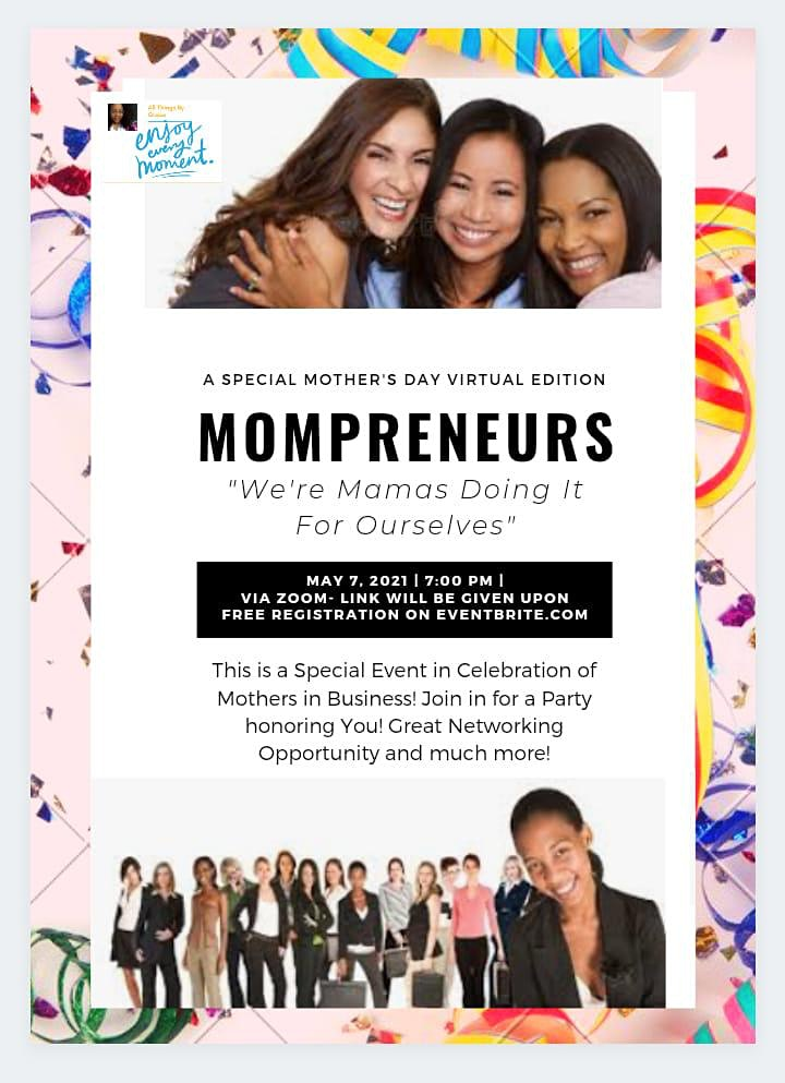 Mompreneurs - Mamas Doing It for Themselves! image
