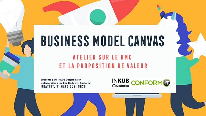 Image de LE BUSINESS MODEL CANVAS ET PROPOSITION DE VALEUR