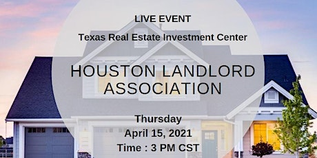 Houston Landlord Association (Live Event) tickets